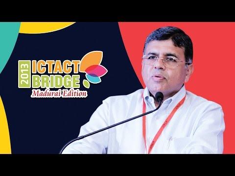 Karumuthu T Kannan | Thiagarajar College | ICTACT Bridge Madurai 2013