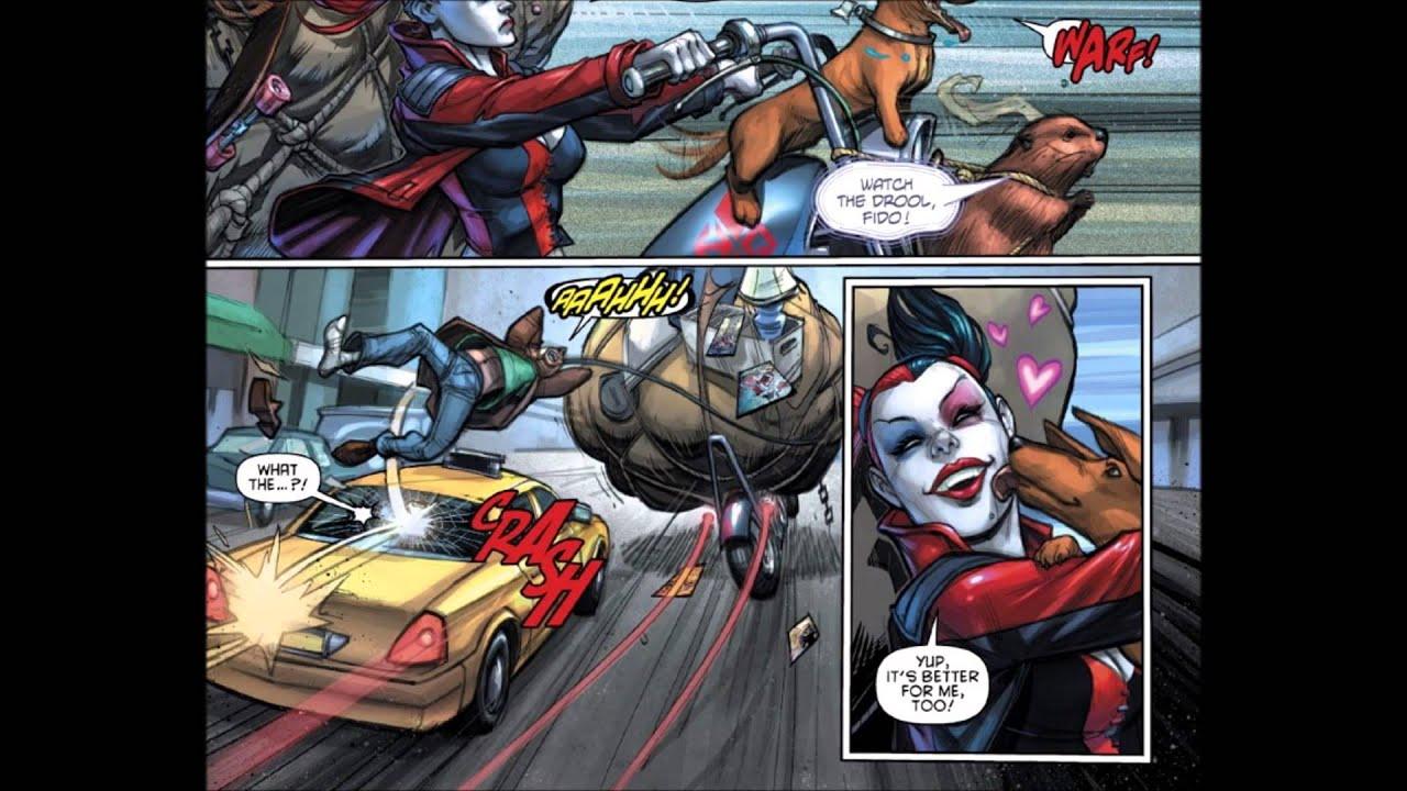 New 52 Harley Quinn And Joker Harley Quinn New 52 Jo...