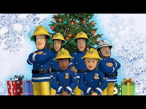Strażak Sam Sam ratuje Świętego Mikołaja Wesołych Świąt Nowe odcinki Święta Bożego Narodzenia