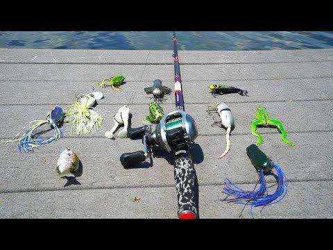 Top Water Lure Fishing Challenge