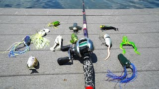 Top Water Lure Fishing Challenge