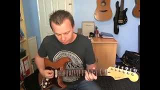 Quick Riff #21 - Your love Keeps Lifting Me Higher - Jackie Wilson - How To Play