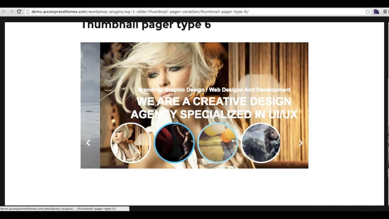 WordPress Slider Plugin – WP 1 Slider – WordPress plugin