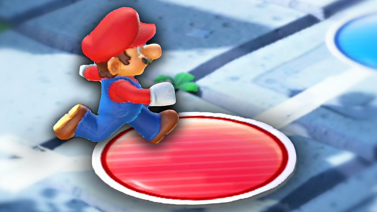 Mario Party but if I land on a Red Space, the video ends...
