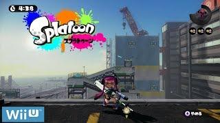 [Live Stream🔴] Nintendo Splatoon Gameplay Battle Multiplayer Online Wii U