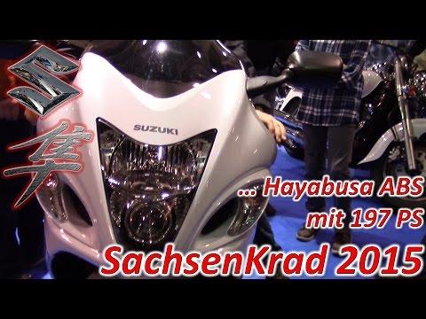 Suzuki Hayabusa ABS mit 197 PS ...