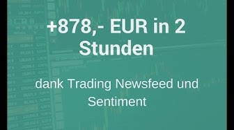 Forex Trading Strategie + 878 EUR in 2 Stunden