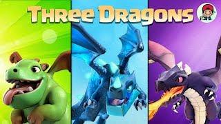 11홀도 6별 때리는 COC 최고의 드래곤 조합 탄생 : Three Dragons
