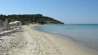 Greece Halkidiki Sani Beach(Greece Halkidiki Sani Beach - aug 2008 One of the best beaches at Halkidiki Греция, Халхидики, пляж Сани - 1 августа 2008 года. Один из лучших..., 2008-12-22T11:08:12.000Z)