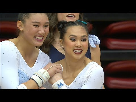 Recap: Christine Peng Peng Lee's pair of perfect 10s highlight UCLA gymnastics' win over Stanford