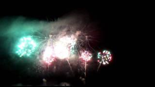 Abschlussfeuerwerk Seenachtsfest Konstanz 2011