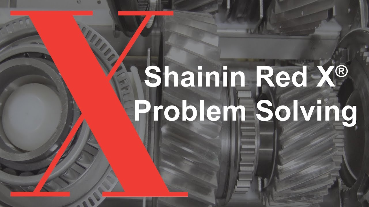 shainin problem solving red x