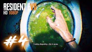 RESIDENT EVIL 7 FULL HD #4: THỬ THÁCH KHÔNG NÔN !!! Trò chơi tử thần !!!