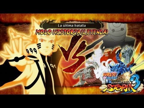 Parte 33 |Capitulo Final Naruto Kurama Vs Bijuus Gameplay Español/Japanese 1080p Xbox360/PS3 Videos De Viajes