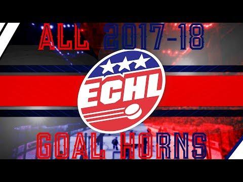 All 2017-18 ECHL Goal Horns