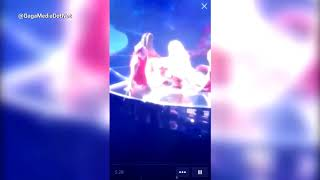 Lady Gaga stops concert for bleeding fan on her Joanne World