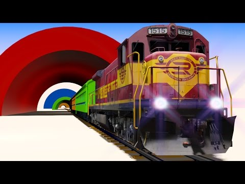 Thumbnail: VIDS for KIDS in 3d (HD) - Trains for Children and Tunnels, Fun Learning - AApV