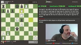 2019 Starts off with 4 Hours of chess with Finegold!