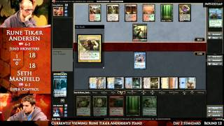 2013 Magic Online Championship Round 12: Rune Andersen vs. Seth Manfield  (Standard)