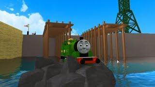 Train Games Thomas and Friends Roblox jump and crash
