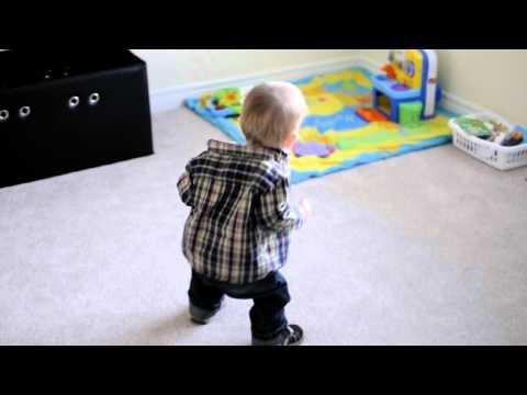 Cute video of Parker dancing