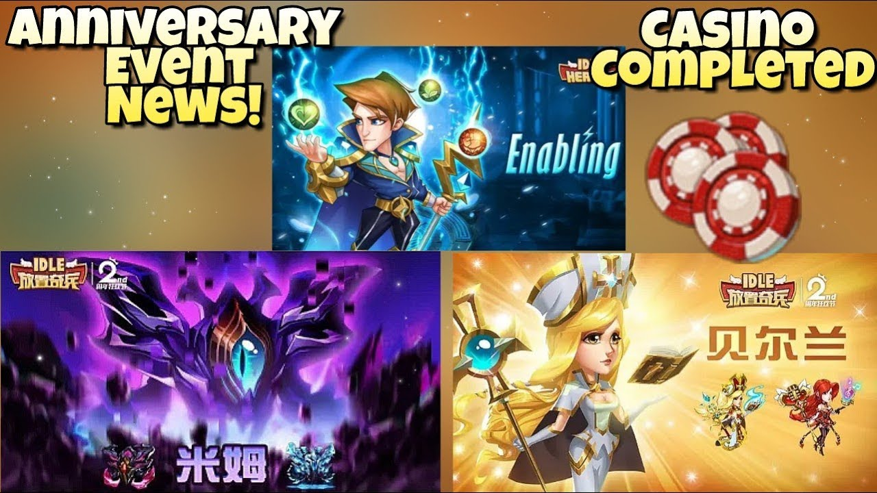Idle Heroes (O/P) - Anniversary Event News! Completing the Casino Event