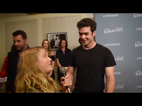 Ethan Peck Interview at The Honor List Screening