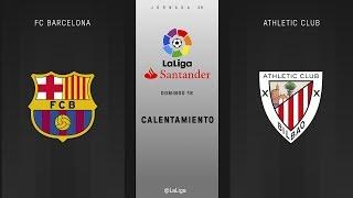 Video Calentamiento FC Barcelona vs Athletic Club download MP3, 3GP, MP4, WEBM, AVI, FLV Juli 2018