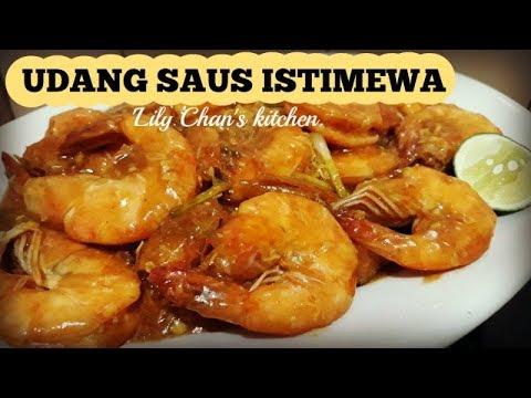 UDANG SAUS ISTIMEWA ala LC (LIVE Facebook 15 januari 2018)