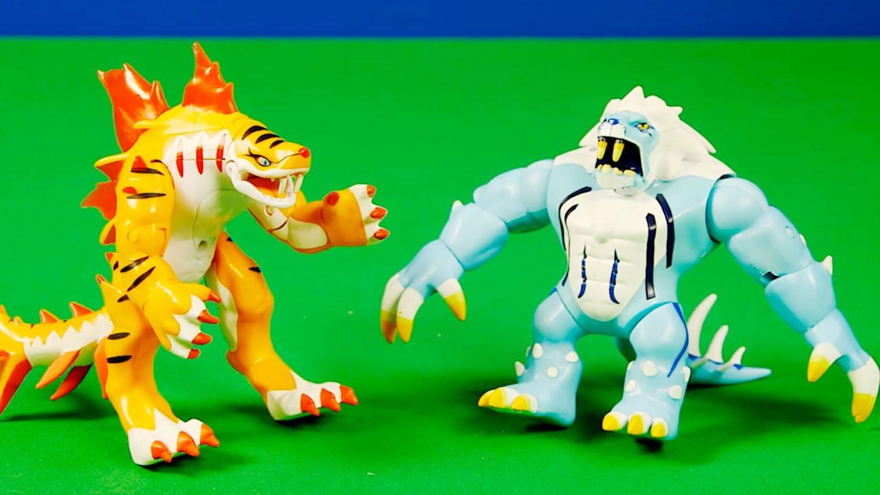 Mega figuras de icelion y tigershark invizimals youtube - Tigershark invizimals ...