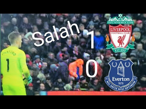 Liverpool vs Everton 1-0 salah great goal
