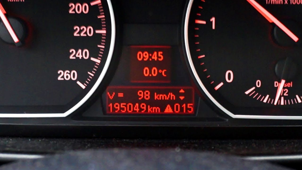 BMW coding digital speed display in instrument cluster (E87 E90 E60)
