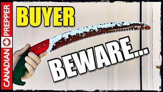 Educating Wranglerstar AGAIN! Cheap Products Fail | Silky Vs Samurai