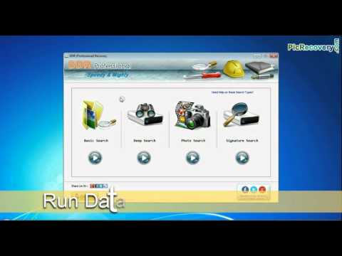 DDR Professional Recovery Program: Recover Undetectable Files From USB Drive