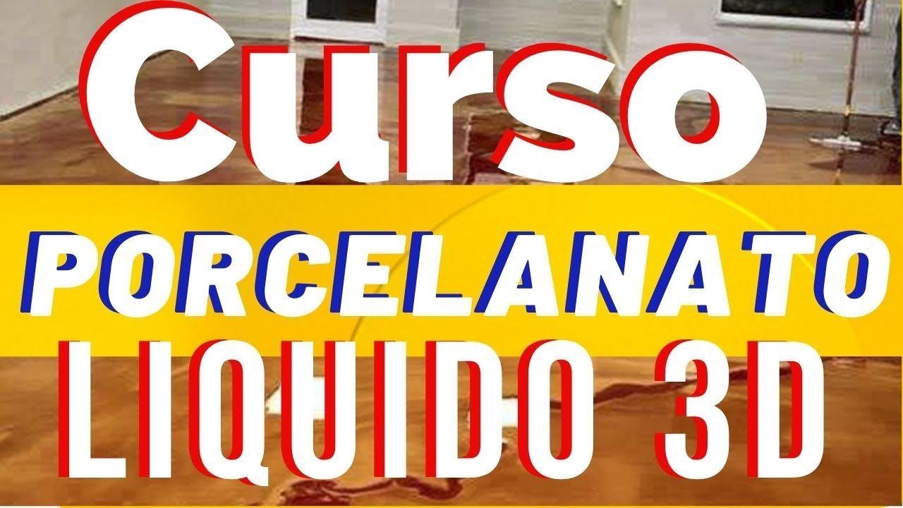 CURSO DE PORCELANATO LÍQUIDO ONLINE EPOXITEC