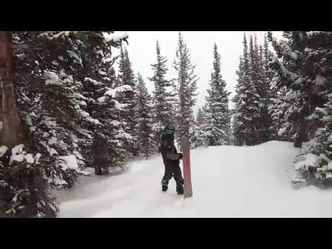 Skiing in Breckenridge Colorado with a GoPro