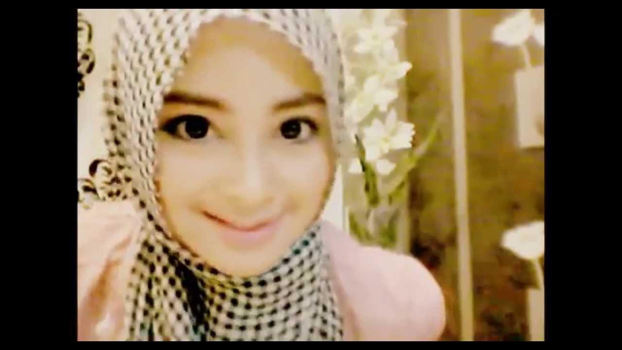 Hijab Tutorial 01 Cara Pakai Hijab Pashmina Sifon Simple Terkini