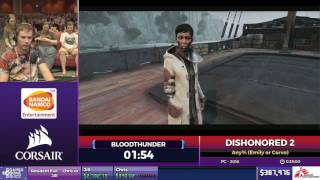 Dishonored 2 by Blood Thunder in 35 14 - SGDQ2017 - Part 50