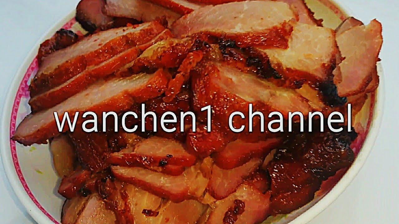 หมูแดง หมูแดงอบน้ำผึ้ง วิธีการทำแบบง่ายๆ อร่อย ติดใจ | Wanchen wanwan