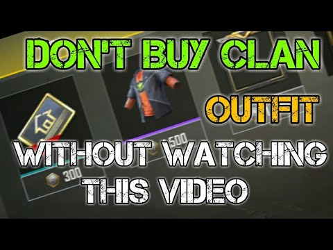 FULL TRUTH ABOUT CLAN OUTFITS|PUBG MOBILE|