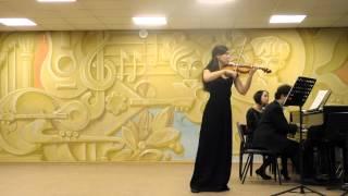 Франк Соната для скрипки и фортепиано A Dur(1,2)