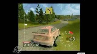 Colin McRae Rally 3 PC Games Gameplay - Finland