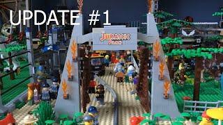LEGO Jurassic Park MOC #2 -Bricks Creations-