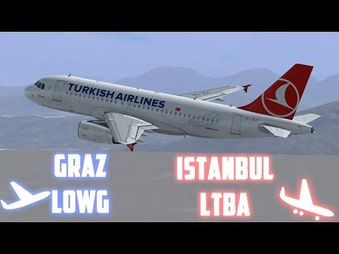 Ihr wolltet es so! Graz - Istanbul [IVAO;GER] | Fly With P3D | OnlyFLY