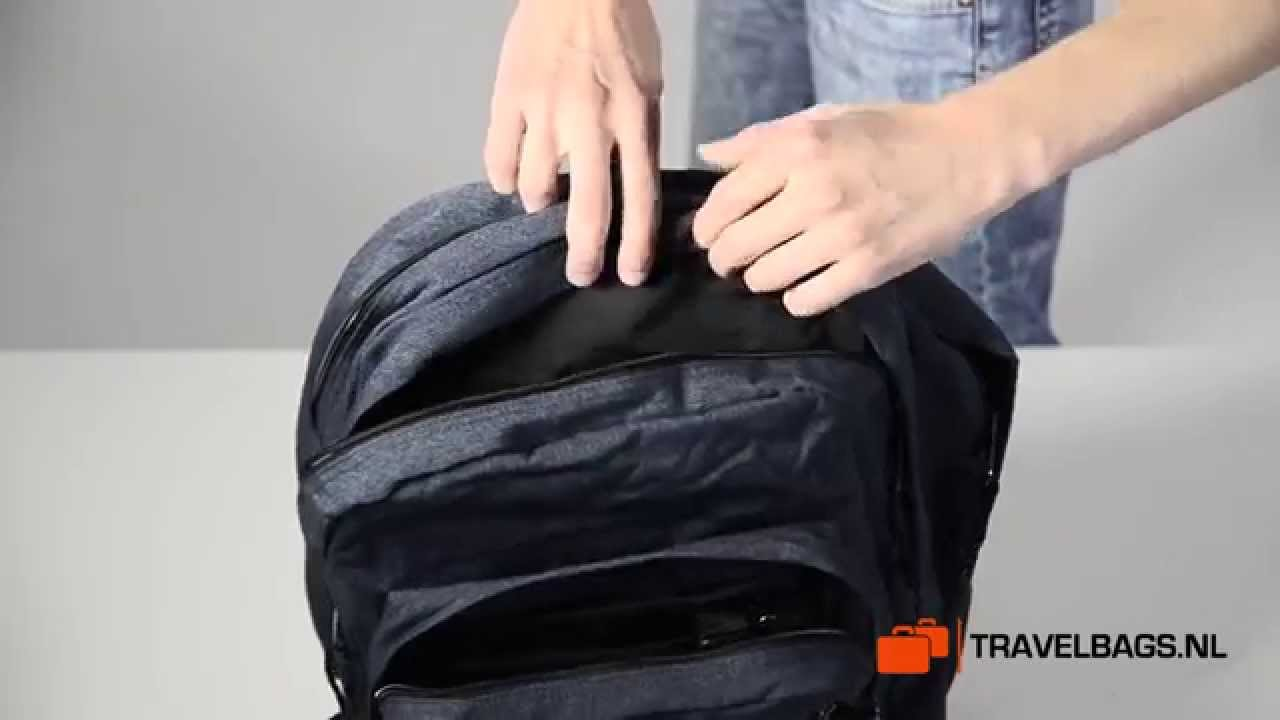 26c5e1abaf3 Eastpak Pinnacle rugzak - YouTube
