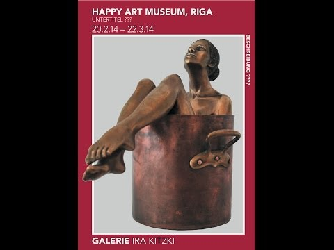 Frankfurt IRA KITZKI gallery -Happy Art Museum expo
