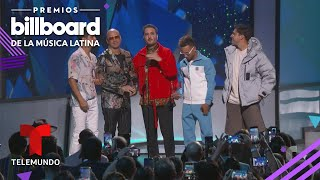 Me Niego de Reik ft. Ozuna y Wisin gana Cancion 'Latin Pop' del Ano Premios Billboa ...