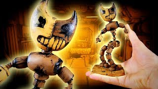 Making BENDY ANIMATRONIC from BATIM Chapter 4 in POLYMER CLAY!