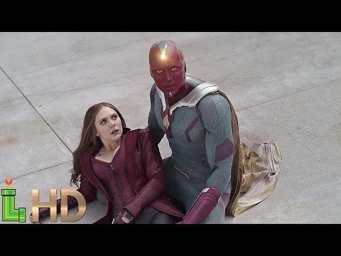 Vision All Power & Fight Scenes | MCU Including Captain America Civil War