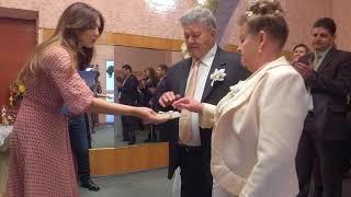 видео Золотая свадьба Ольги и Владимира
